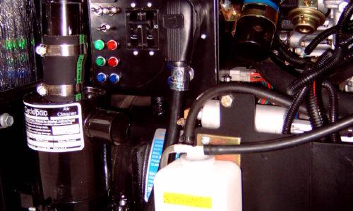 CG-13 12.5 KW Generator close up