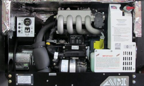 500 Series Generator Installed