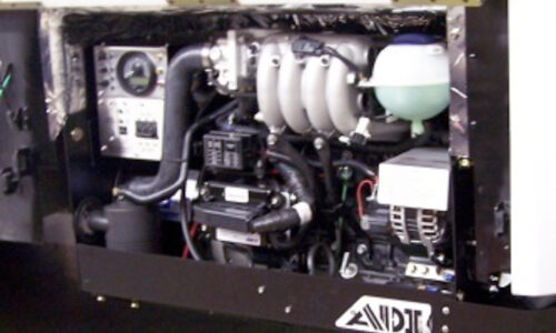 400 Series Generator Installed